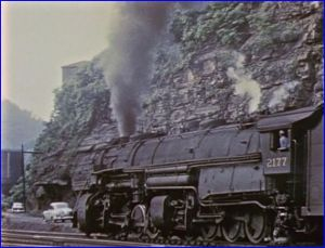 norfolk and western 2177 y6b class wv